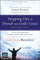 Celebrate Recovery Revised Edition Participant's Guide Set: A Program for Implementing a Christ-Centered Recovery Ministry in Your Church, Shrinkwrapped four-pack includes one copy of each of the four revised participant's guides.
