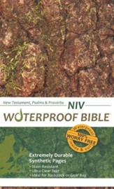 NIV Waterproof NT with Psalms and Proverbs  - Imperfectly Imprinted Bibles