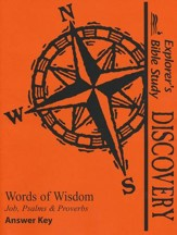 Bible Discovery: Words of Wisdom, Answer Key