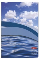 NKJV Waterproof Bible, Blue Wave