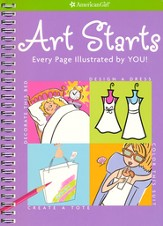 Art Starts: Every Page Illustrated By You!