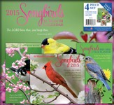 2015 Songbirds, Value Pack Calendar
