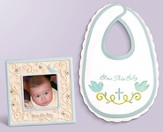 Bless This Baby Photo Frame and Bib Gift Set