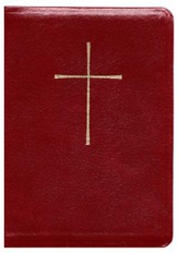 The Book of Common Prayer and Hymnal 1982 Combination: Red Leather