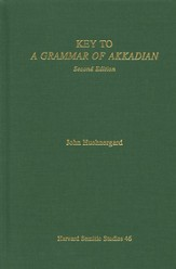 Key to A Grammar of Akkadian