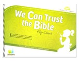 Answers Bible Curriculum: We Can Trust the Bible Preschool Flip Chart Year 1 Quarter 1
