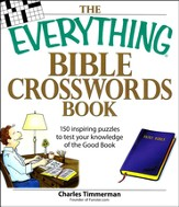 The Everything Bible Crosswords Book