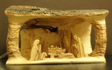 Olivewood Nativity from Bethlehem