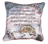 Soldier's Prayer, Tapestry Pillow