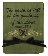 The Earth Is Full Of the Goodness Hand Towel