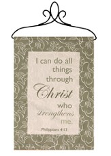 I Can Do All Things Through Christ Banner