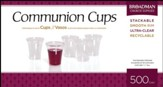 Plastic Communion Cups, 500