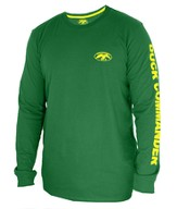 Duck Commander Shirt, Long Sleeve, Green, Large