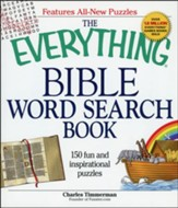 The Everything Bible Word Search Book: 150 Fun and Inspirational Puzzles (slightly imperfect)