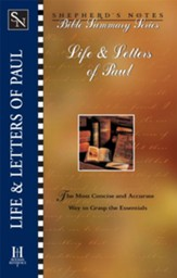 Shepherd's Notes on The Life and Letters of Paul - eBook