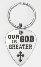 Our God Is Greater Keyring