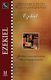 Shepherd's Notes on Ezekiel - eBook