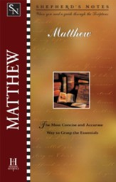 Shepherd's Notes on Matthew - eBook