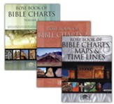 Rose Book of Bible Charts -  Volumes 1-3