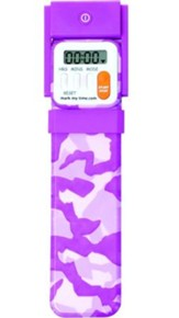 Bookmark Timer, Booklight, Pink Camo