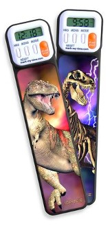 3D Dinosaur Digital Timer Bookmark