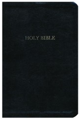 The A. W. Tozer Bible: KJV Version, Genuine leather, Black