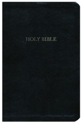The A. W. Tozer Bible: KJV Version, Genuine leather, Black, Thumb Indexed