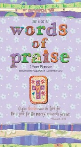 2014-2015 Words Of Praise Pocket Planner