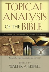 Topical Analysis of the Bible: A Survey of Essential  Christian Doctrines - Slightly Imperfect
