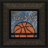 Basketball, Goals and Ambitions Framed Print