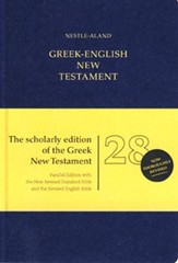 Novum Testamentum Graece, Nestle-Aland 28th Edition with NRSV/REB Greek-English New Testament
