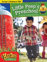 Little Peep's Preschool Leader Manual