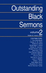 Outstanding Black Sermons Volume 2