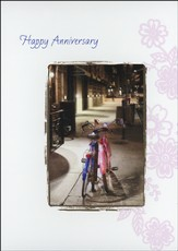 Anniversary Cards, Bicycles, Pack of 36