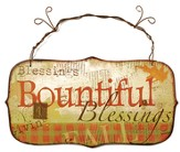 Bountiful Blessings Sign