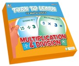 Math Disc Flash Cards: Multiplication & Division