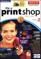 The Print Shop 2 on CD-Rom for Macintosh OS X