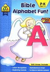 Bible Alphabet Fun! Ages 4-6