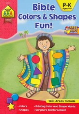 Bible Colors & Shapes Fun! Ages 4-6