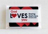 God Loves You Blessing Cards