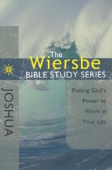 Joshua: The Warren Wiersbe Bible Study Series