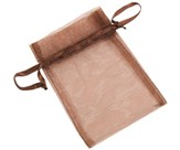 Café Chocola Organza Bags, Package of 12