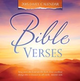 Bible Versus, Daily Boxed Calendar 2015