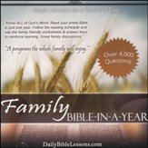 Daily Bible Lessons: Family Bible-in-a-Year PDF CD-Rom