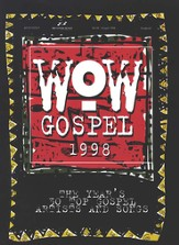 WOW Gospel 1998, Songbook