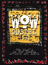 WOW Gospel 1999, Songbook