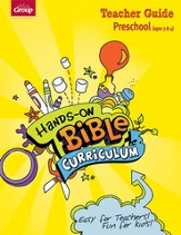 Hands-On Bible Curriculum Preschool: Teacher Guide, Spring 2014