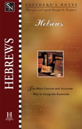 Shepherd's Notes on Hebrews - eBook