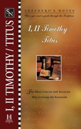 Shepherd's Notes on 1,2 Timothy/Titus - eBook