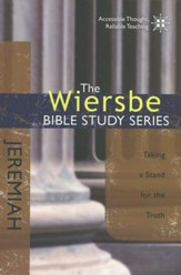 Jeremiah: The Warren Wiersbe Bible Study Series  - Slightly Imperfect